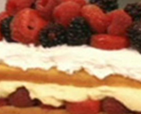 mixed berry pound cake recipe