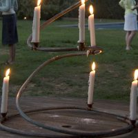 Copper Candle Holder from Katie Brown