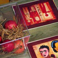 Katie Brown Pomegranates DIY table runner