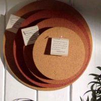 cork board idea by katie brown