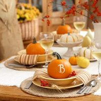 fall table top inspiration found by Katie Brown