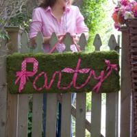 katie brown pink party diy