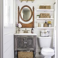 rustic charm bathroom
