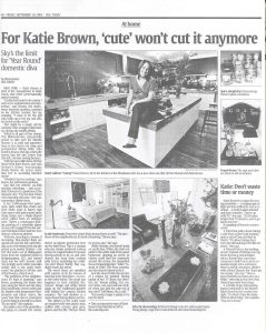 katie brown new york times article