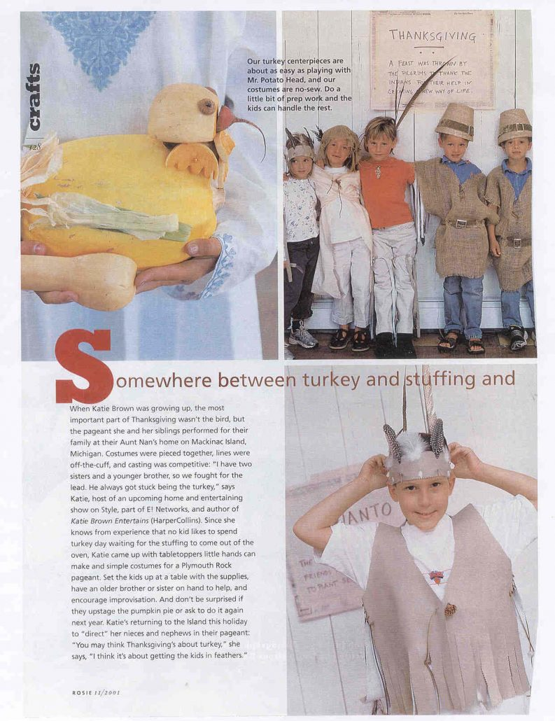 Rosie Magazine Katie Brown article