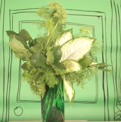 No Flower Bouquet DIY from Katie Brown