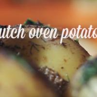 dutch oven potato recipe from katie brown