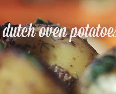 dutch oven potato recipe from katie brown