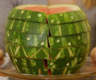 carved watermelon diy and recipe katie brown
