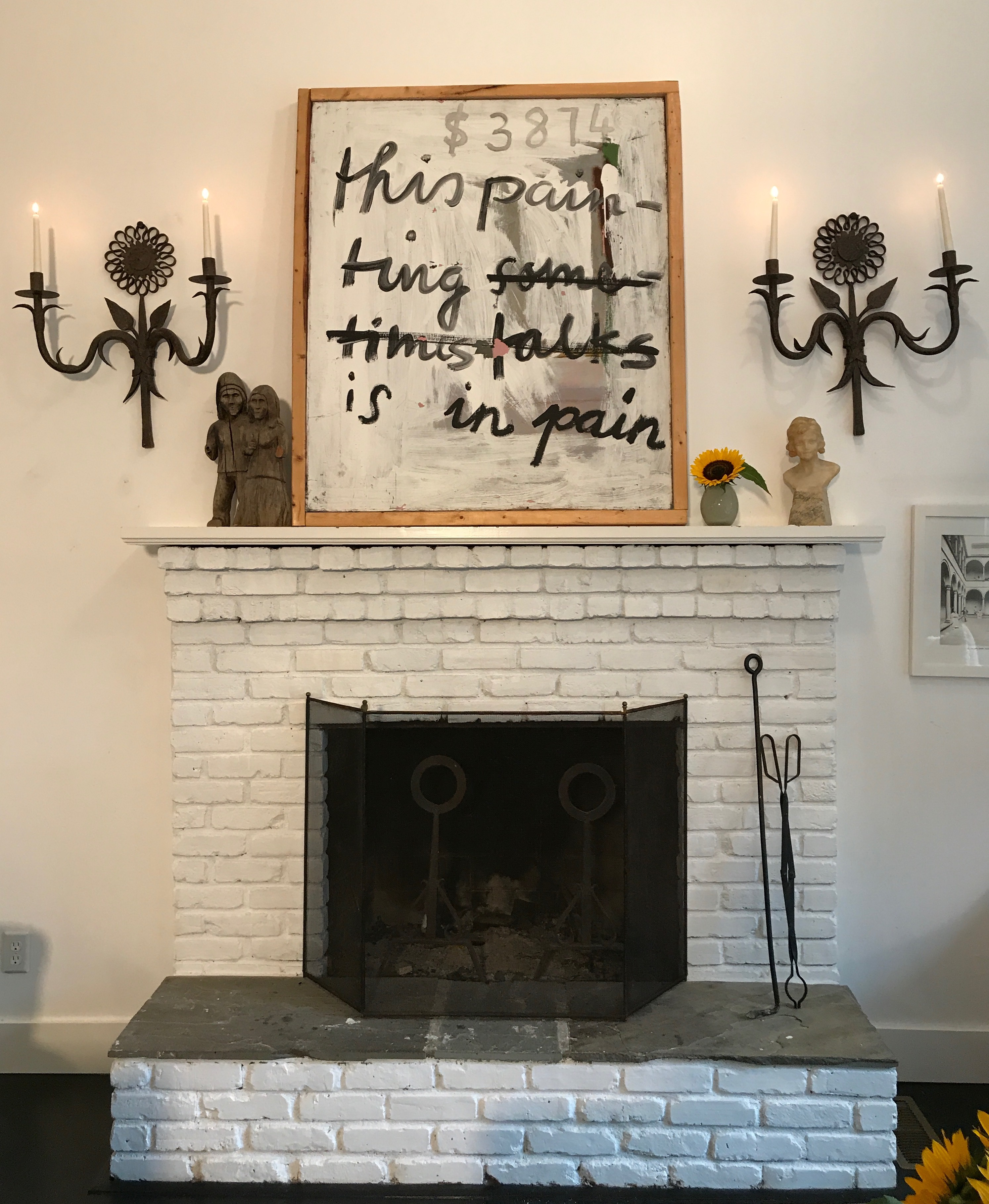 Katie Brown Style Me Pretty And Makeover Your Fireplace Mantel