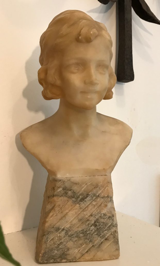 marble bust woman katie brown